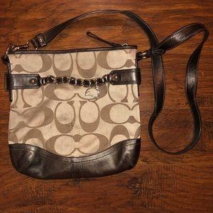 Cute crossbody Coach purse!